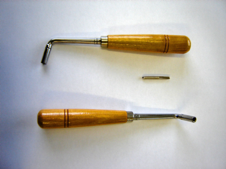 Tuning Lever for 4mm pins - wooden handle